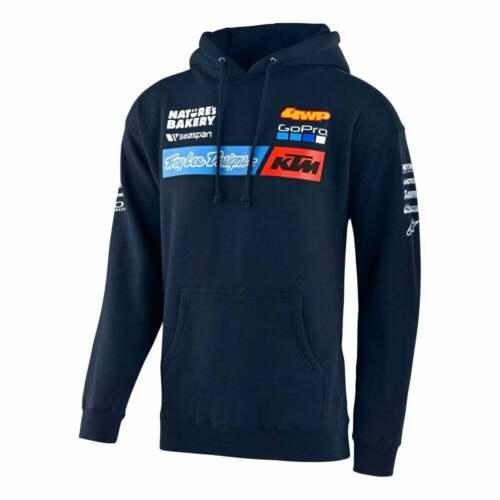 Troy Lee 2020 adultes TEAM KTM TLD Motocross MX Enduro Pullover Sweat à capuche-bleu marine