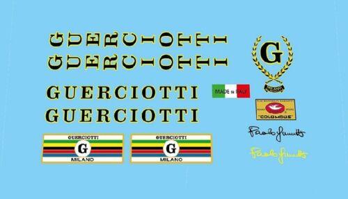 Guerciotti bicycle decals Adesivi N.3