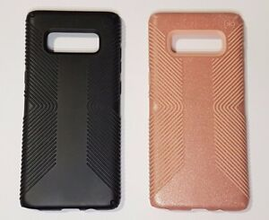 the best attitude e3bcc 76acb Details about Speck Presidio Grip Case for Samsung Galaxy Note 8 black,  Pink (+ Glitter)