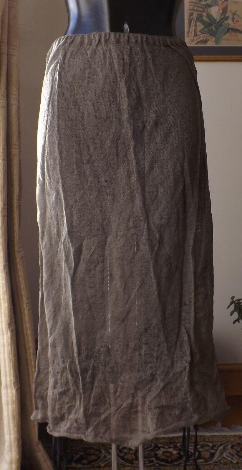 Women wear Sarah Pacini knitwear vison colour skirt one size  SP 1088 BNWT