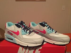 Image is loading Nike-Air-Max-90-Mesh-GS-724855-102- eff0536b834a5
