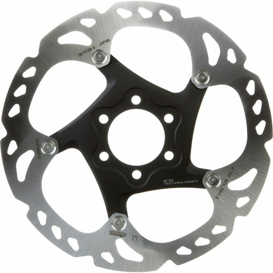 Shimano SM-RT86 Deore XT Ice-Tech Disc Brake redor Stainless 6-Bolt - 160mm