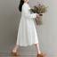 Womens-A-Line-Pleated-Cotton-Linen-Shirt-Dress-Thin-Long-Sleeve-Dress-Casual-New thumbnail 8