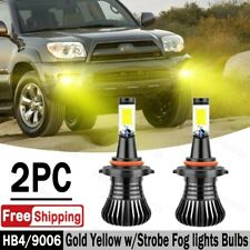2pcs 72w Led Fog Light 9006 Yellow Conversion Bulbs For Toyota 4runner 2003 2009
