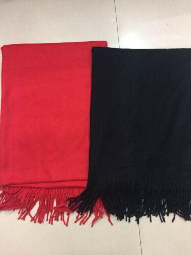 Wholesale joblots 18 Pcs Cashmere Scarve Châle Pashmina 100x180 cm Laine Grande Taille