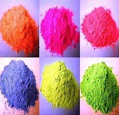6 X 250g Packs-color Fluorescente Pinturas En Polvo Buenos CompañEros Para NiñOs Y Adultos