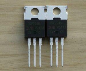 2pcs IRFZ24N IRFZ24 MOSFET N-CH 55V 17A TO-220 NEW HIGH QUALITY