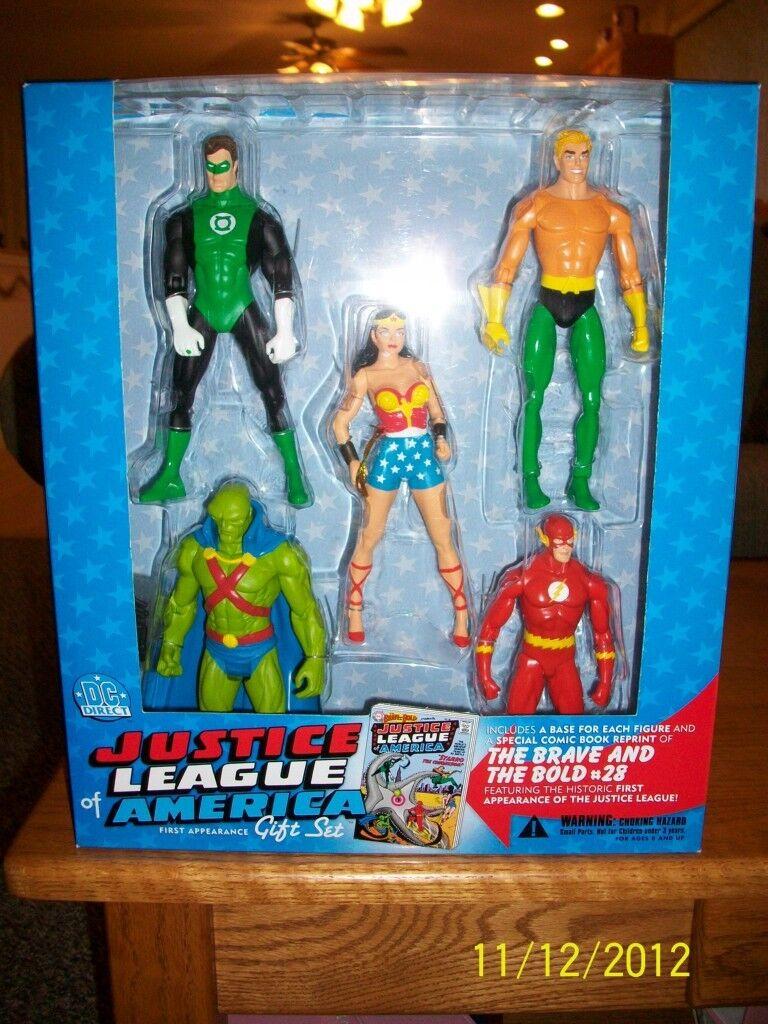 DC La Liga De La Justicia De América primero Direct apariencia Deluxe Conjunto de Regalo