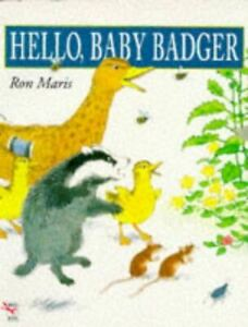 Hello-Baby-Badger-Red-Fox-picture-books-Maris-Ron-UsedVeryGood-Paperback
