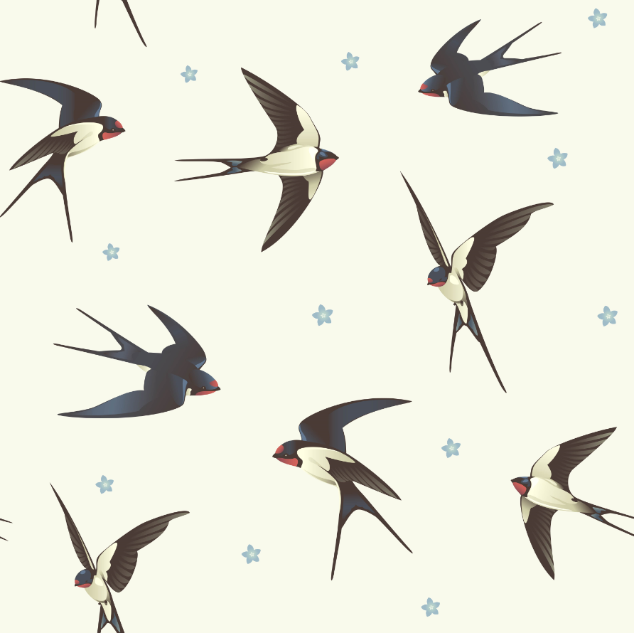 3D Birds And Flowers 54 Wall Paper Wall Print Decal Wall Deco Wall Indoor Murals