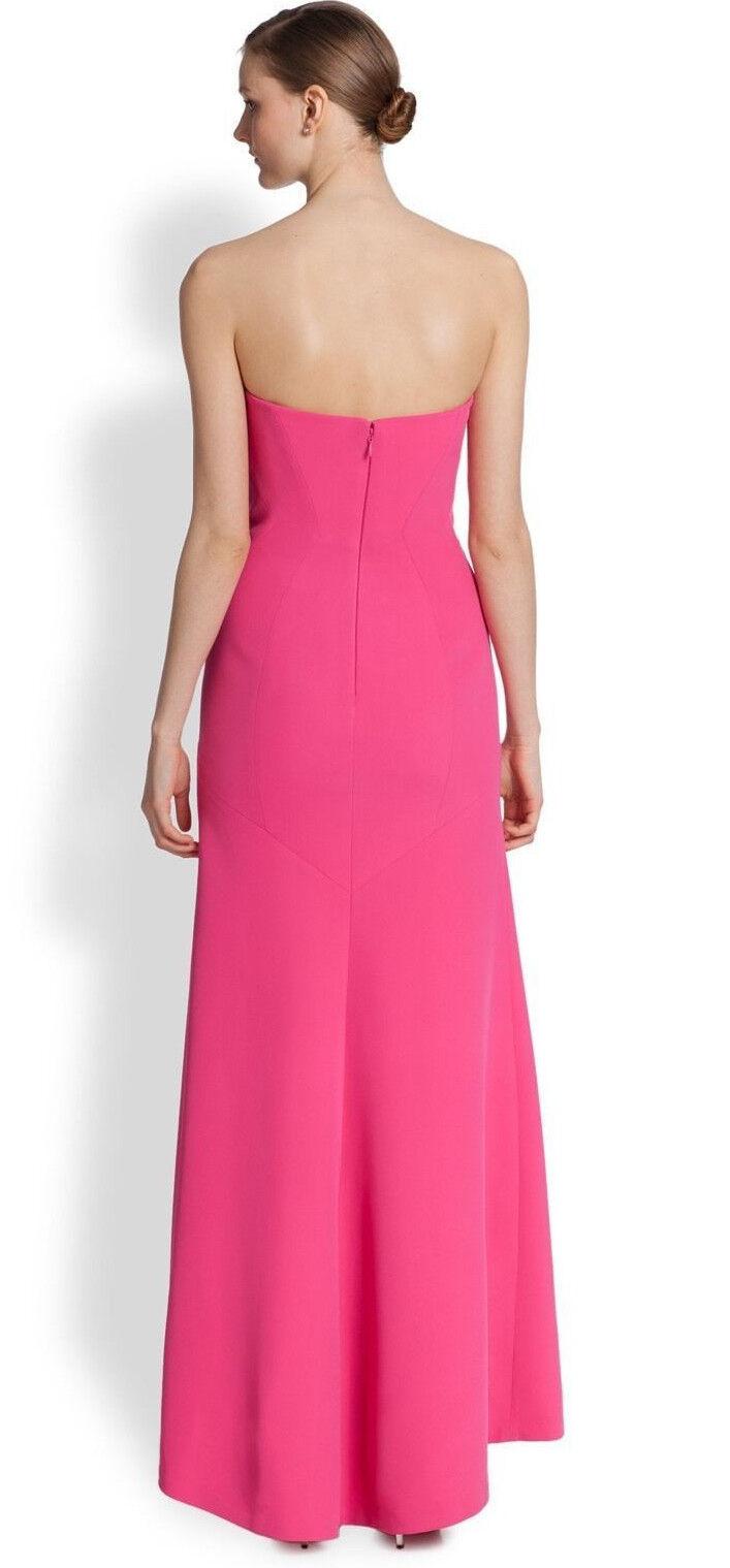 BCBG Max Azria Pink Women\'s Size 8 Strapless Seamed Sheath Dress ...