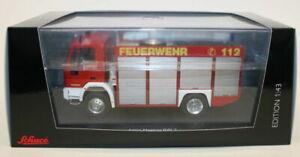 SCHUCO 1/43 Scale - 07132-IVECO MAGIRUS RW 2-Allemand fire engine
