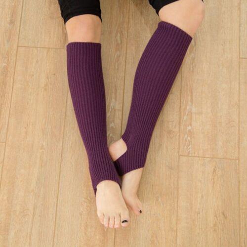 High Quality Dancer Leg Warmers 1 Pair Women/'s Dancing Knitted Socks