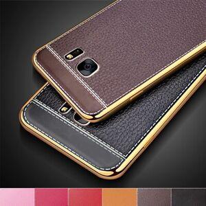 Samsung Galaxy Schutzhülle Handyhülle Silikon TPU Cover Metallicrand