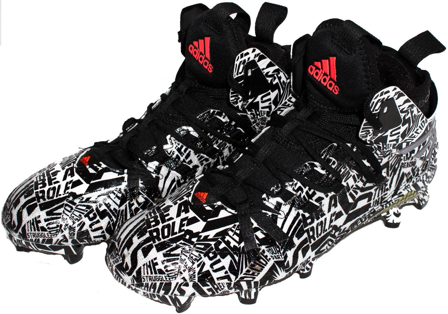Adidas Freak x Kevlar Football shoes Black White S84030 Sz 7 - 11.5