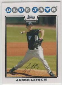 2008-Topps-Baseball-Toronto-Blue-Jays-Team-Set-with-Update-28-cards
