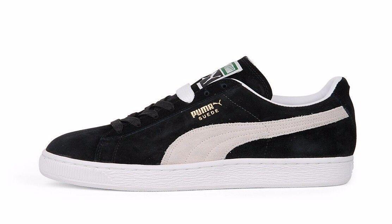 Puma Suede Classic 352634 03 03 03 nero bianca Casual Men f50002