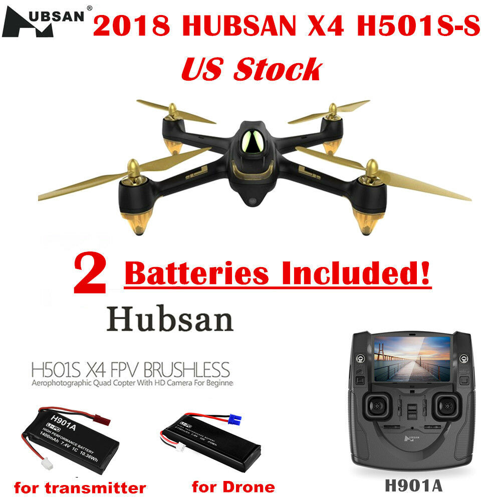 Hubsan H501SS X4 Drone 5.8G FPV Brushless RC Quadcopter 1080P Follow Me GPS RTF