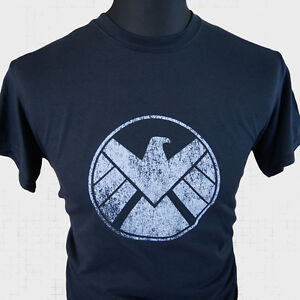 Agentes-of-SHIELD-Superheroe-Camiseta-Marvel-Vengadores-Captain-America-Iron-Man