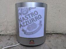 Insegna luminosa birra Nastro Azzurro bar pub collezione lanterna lampione