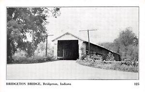 D54-Bridgeton-Indiana-In-Postcard-Covered-Bridge-c1940s-5