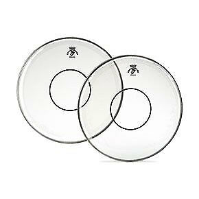 """Remo 13/"""" Clear Powerstroke 77 Batter Drumhead w// Clear Dot"""