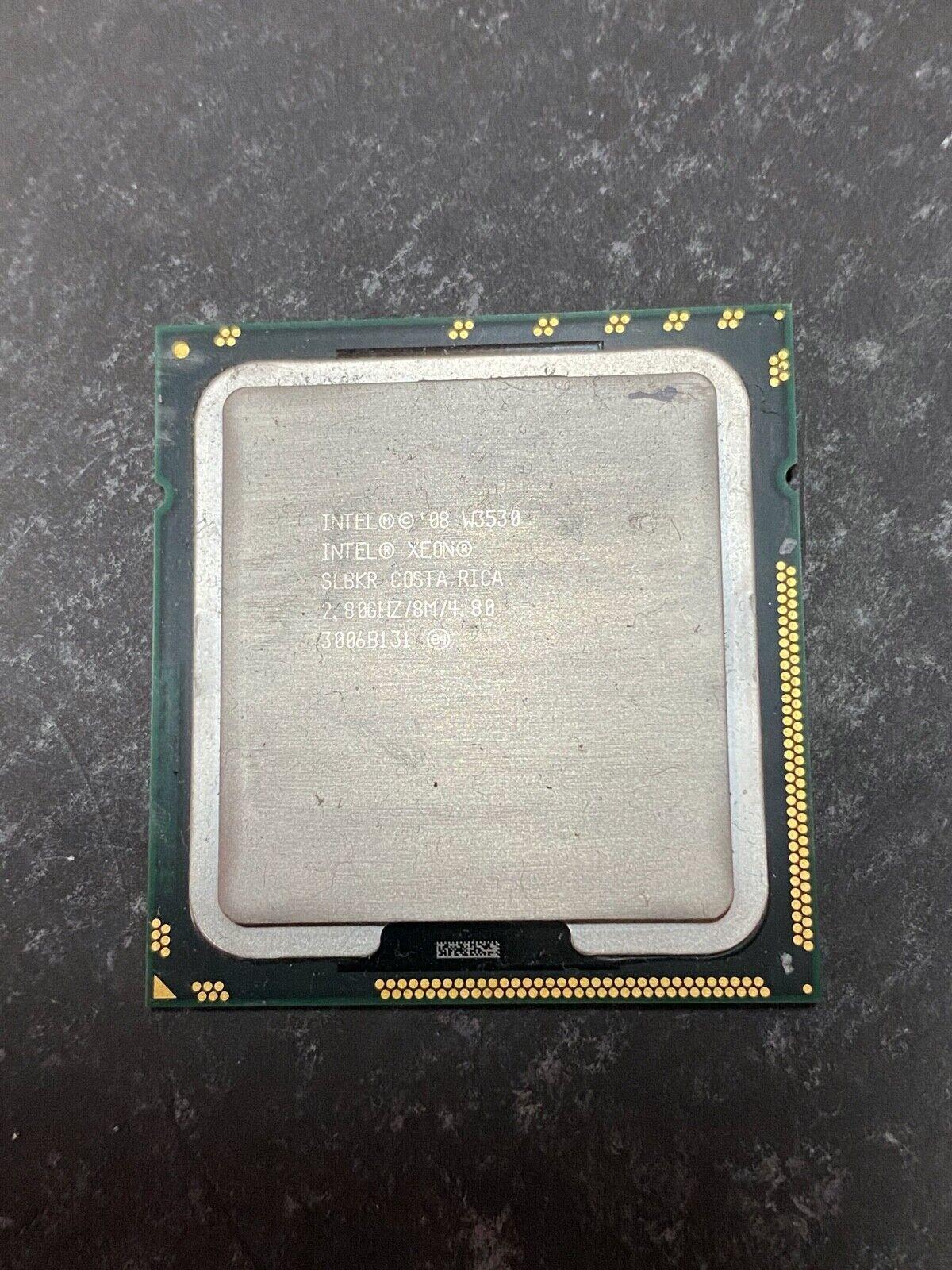 10 LOT Intel Xeon w3530 2.8Ghz CPU 4-Cores SLBKR Intel Socket 1366 mac pro pulls