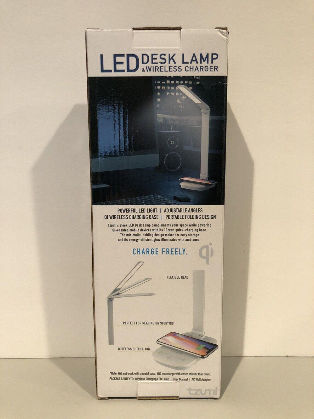 Tzumi Wireless Charging Led Desk Lamp For Sale Online Ebay