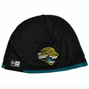 NFL-New-Era-Jacksonville-Jaguars-Tech-Knit-Game-Cuffless-Beanie-Hat-Skully-Toque