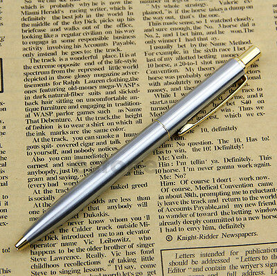 High Quality BAOER 37 stainless steel Push Ball Point Pen HOT