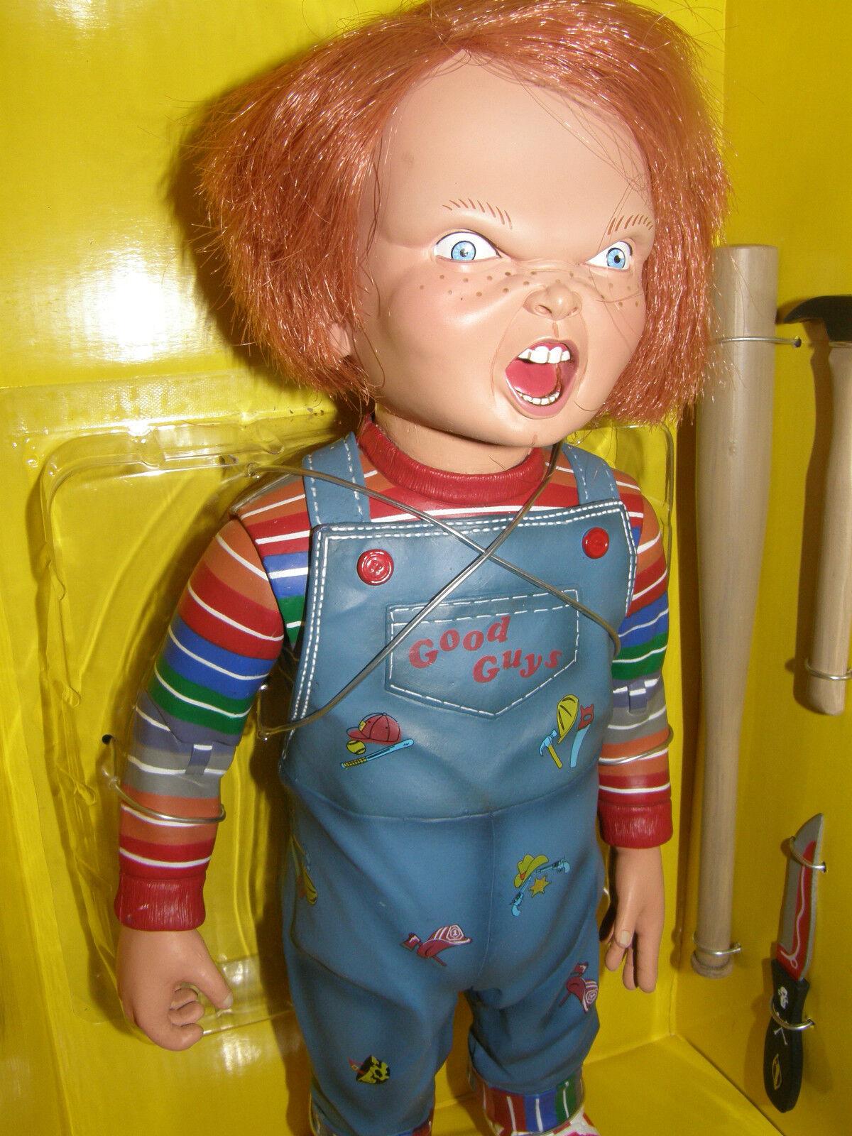 Buen tipo  juego de niños 3 hablando Chucky Doll Nuevo en Caja
