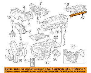 image is loading toyota-oem-engine-intake-manifold-gasket-1717720020