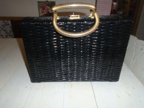 Vintage Walborg Wicker Handbag Purse