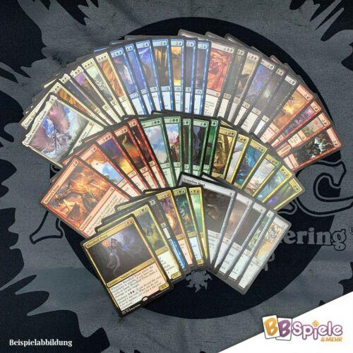 seltene Karten Magic Sprache Englisch The Gathering 50 Rares