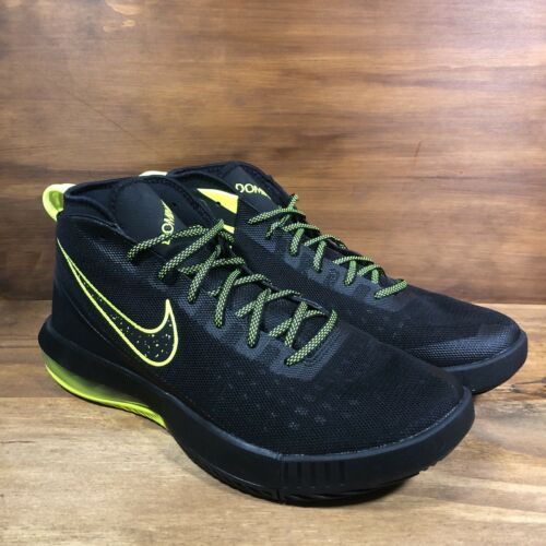 897651-003 Nike Air Max Dominate Men/'s Basketball Shoes Black Volt Multi Size