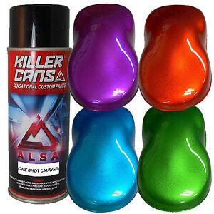 alsa killer cans one shot candies automotive paint pre. Black Bedroom Furniture Sets. Home Design Ideas