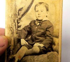 Picture-of-a-Boy-VINTAGE-ANTIQUE-Photograph-2-5X4-034-1880-90-Gledhill-Jerseyville