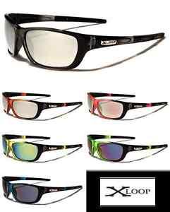 X-Loop-Mens-Stylish-Full-Frame-Sports-Running-Triathalon-Sunglasses-XL570