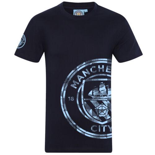 Manchester City FC Ufficiale Calcio Regalo Bambini Grafica T-shirt
