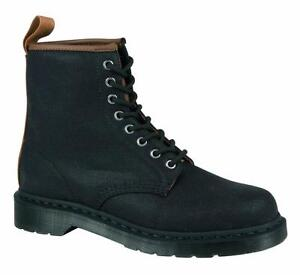 Martens 8 Black Original 21250002 1460 Dr Canvas Doc Loch Bqwxn5qXUd