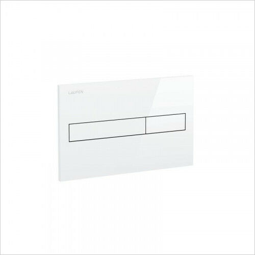 Laufen Flush Placa-Dual Flush-blancoo - (gama Alta) - 8.9566.1.000.000.1