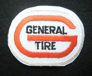 GENERAL-TIRE-EMBROIDERED-SEW-ON-PATCH-TRUCKS-AUTOMOBILE-2-3-4-034-x-2-034-oval