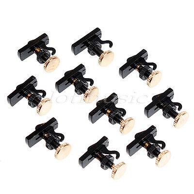10pcs British Style 4/4 Violin String Adjuster Fine Tuner Violin parts