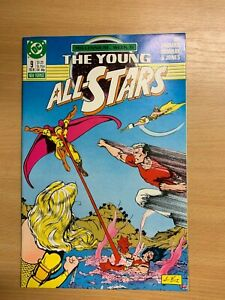 Dc-Comics-The-Young-All-Stars-9-Fev-1988-NM
