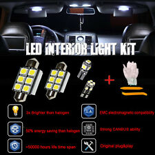 8 Pieces Xenon White LED Lights Interior Package Kit for 2009-2012 Dodge RAM