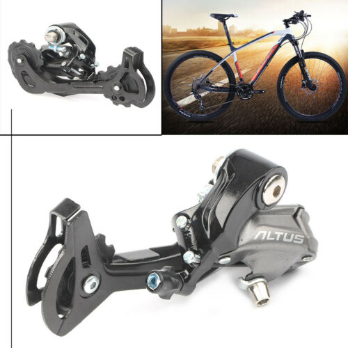 Altus RD-M370 Rear Derailleur 9//27 Speed SGS Long Cage 34T For MTB Bike