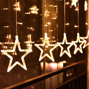 sterne-led-lichterkette-led-lichtervorhang-fenster-garten-warmweiss-weihnachten