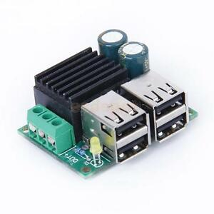 USB-Step-down-Power-Supply-Converter-Board-Module-DC-12V-24V-40V-to-5V-5A-New