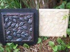 2 leafy tile  abs plastic molds plaster, cement mould