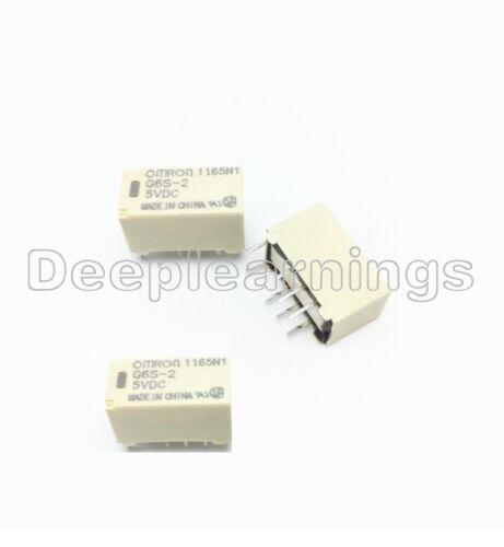 1PCS 5V Relay G6S-2-5VDC 250VAC//DC220V 2A 8PIN for Omron Relay New